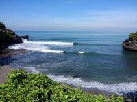 enjung galuh, surf spot, tanah lot